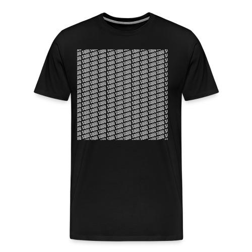 Sqüü shirt black - Männer Premium T-Shirt