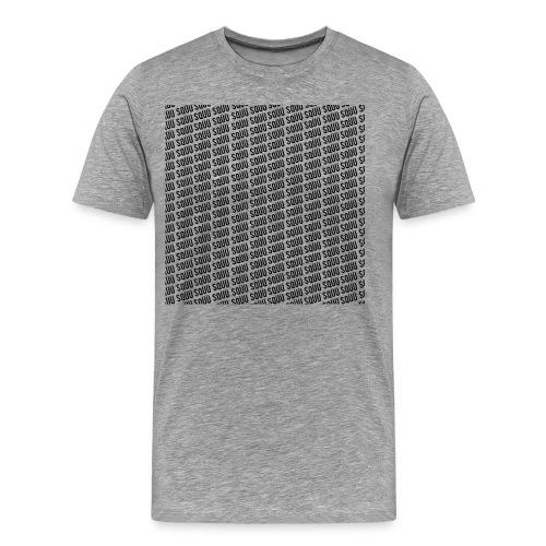 sqüü shirt white - Männer Premium T-Shirt