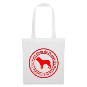 100% amateur de Dogue de Bordeaux - Tote Bag