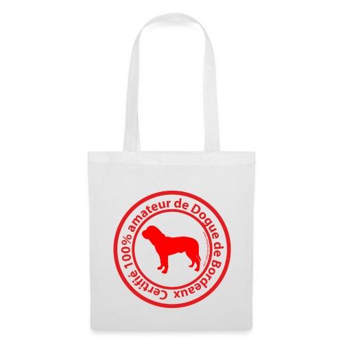 100% amateur de Dogue de Bordeaux - Tote Bag