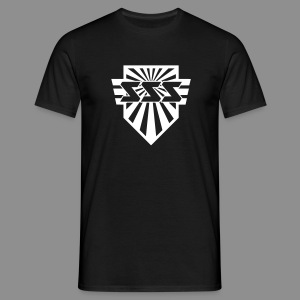 SSS Logo + Sonic Speed Soldier back - Men - Männer T-Shirt