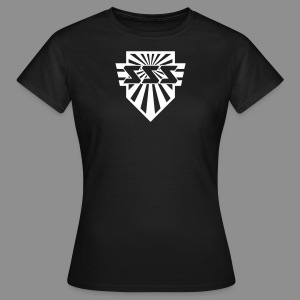 SSS Logo + Sonic Speed Soldier back - Women - Frauen T-Shirt