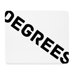 DEGREES STYLISH MOUSE PAD - Mouse Pad (horizontal)