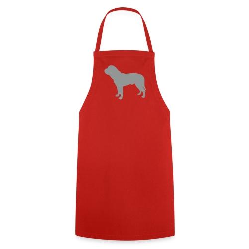 Silhouette Dogue de Bordeaux - Tablier de cuisine