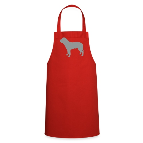 Silhouette Dogue de Bordeaux - Tablier de cuisine