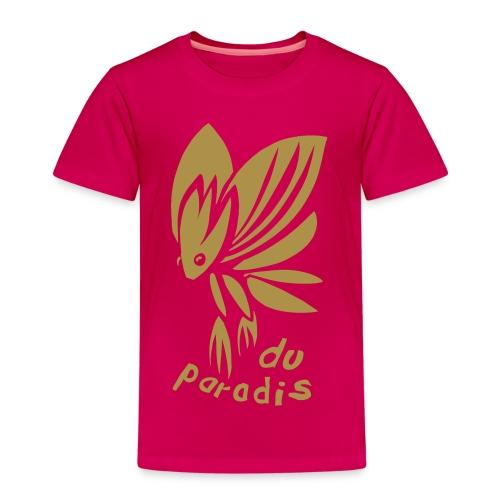 PARADIESSCHMETTERLING GOLD (kids) - Kinder Premium T-Shirt