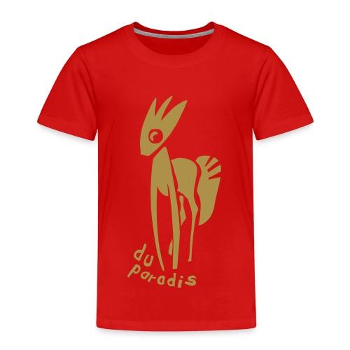 PARADIESPFERD GOLD (kids) - Kinder Premium T-Shirt