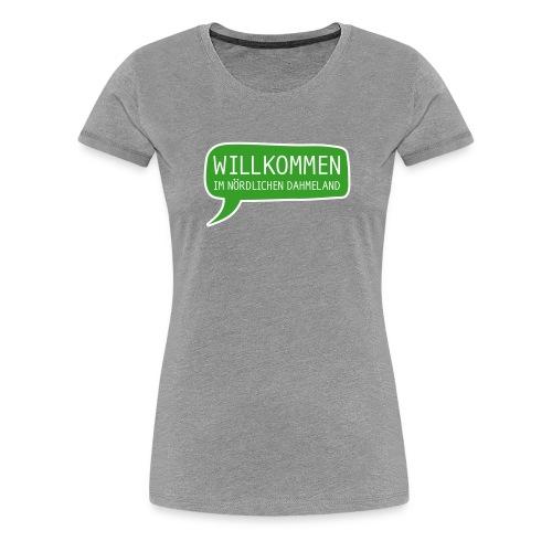 WIND T-Shirt Damen - Frauen Premium T-Shirt