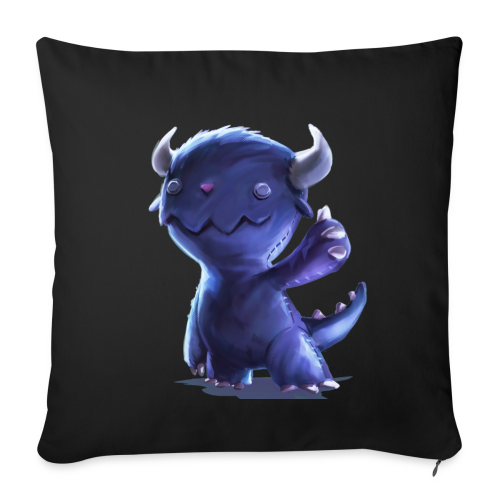 Dream Harvest - Cuddly Monster Pillow - Sofa pillow cover 44 x 44 cm