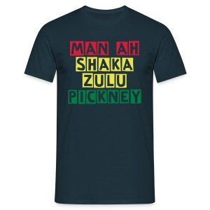 Shaka Zulu Pickney Mens  T-Shirt  - Men's T-Shirt