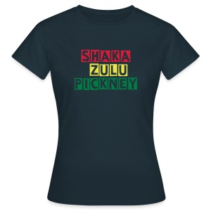 Shaka Zulu Pickney womens T-Shirt - Women's T-Shirt