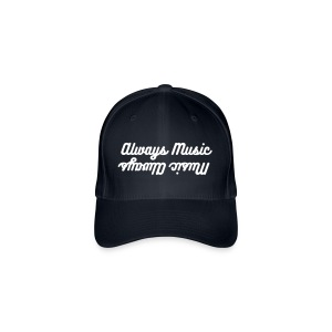 Music Always, Always Music baseball cap, grey - Flexfit Baseball Cap