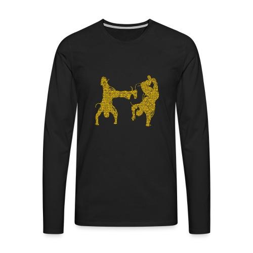 Word Play Long-Sleeved Tee - Men's Premium Longsleeve Shirt