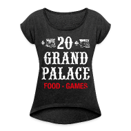 T-Shirts ~ Women's T-shirt with rolled up sleeves ~ 20 Grand Plalace