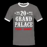 T-Shirts ~ Men's Ringer Shirt ~ 20 Grand Plalace