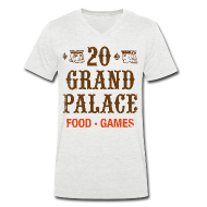 T-Shirts ~ Men's V-Neck T-Shirt ~ 20 Grand Plalace