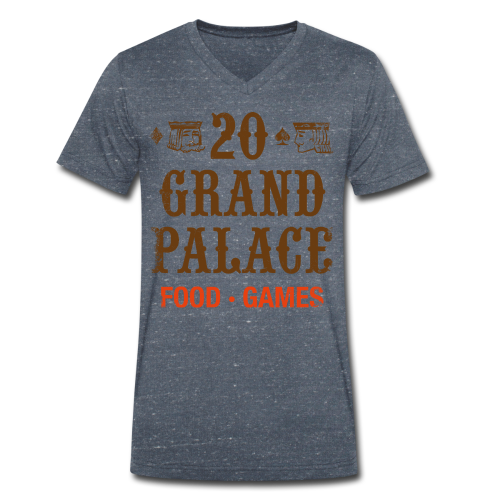 20 Grand Palace - Men's Organic V-Neck T-Shirt by Stanley & Stella