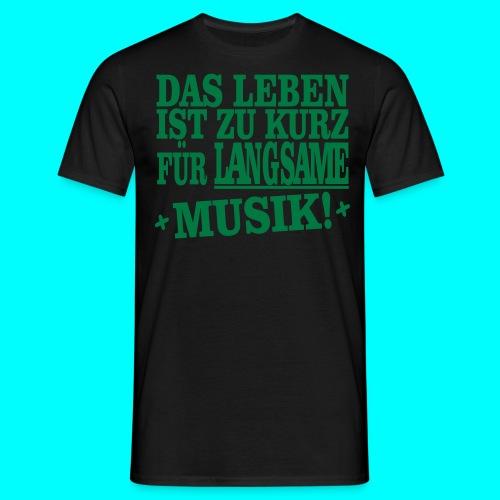 Männer T-Shirt ,,Music'' - Männer T-Shirt