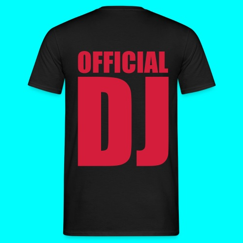 Männer T-Shirt ,,DJ'' - Männer T-Shirt