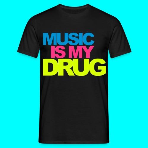 Männer T-Shirt ,,Music Drug'' - Männer T-Shirt