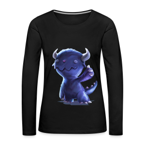 Dream Harvest - Cuddly Monster Women's Long-sleeve Shirt - Women's Premium Longsleeve Shirt