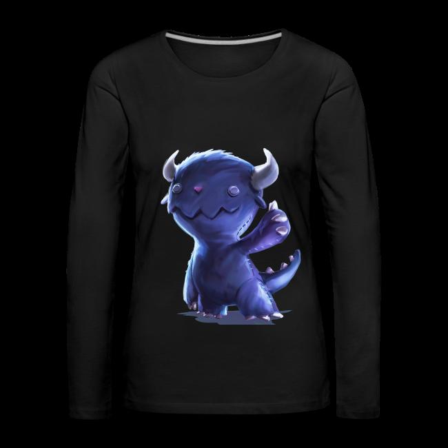 Dream Harvest - Cuddly Monster Women's Long-sleeve Shirt