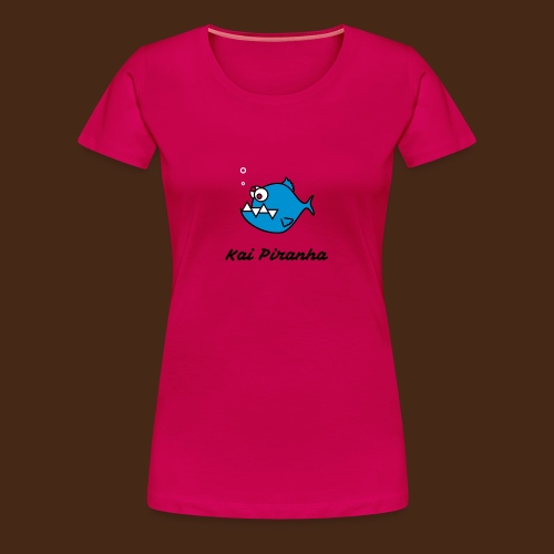 Kai Piranha_female - Frauen Premium T-Shirt