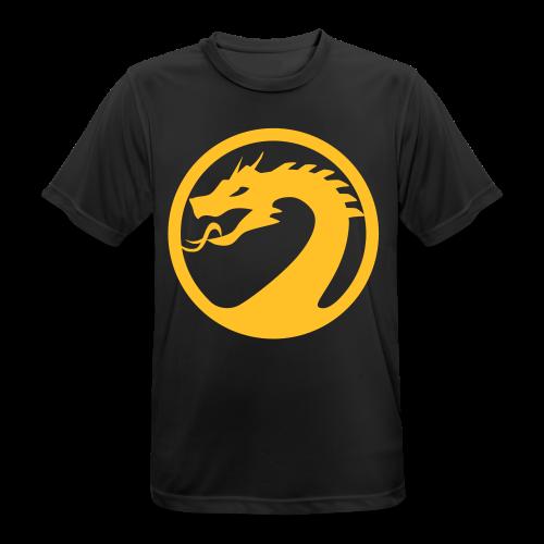 #ShirtPolyesterYellowMEN - Männer T-Shirt atmungsaktiv
