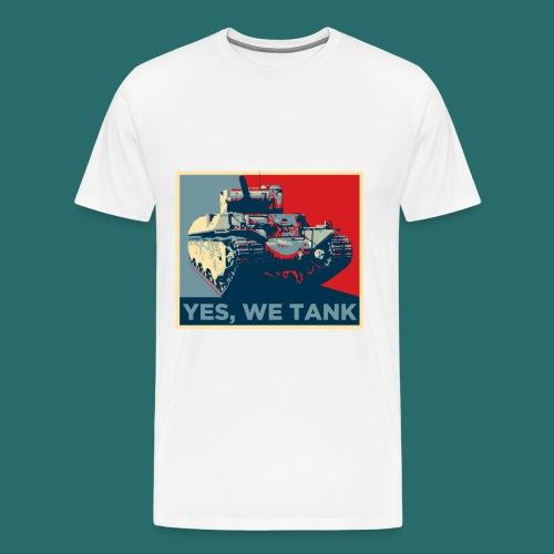 Yes, we tank - T-shirt Premium Homme