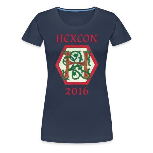 Premium T-skjorte for kvinner - motiv kun foran