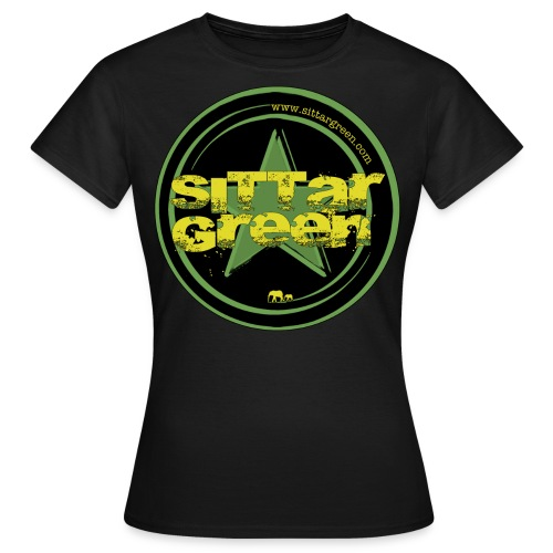 Sittar T-Shirt (Green cilcle) - Camiseta mujer
