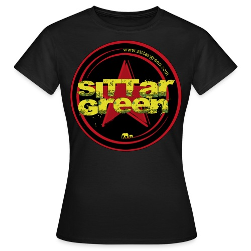 Sittar T-Shirt (Red cilcle) - Camiseta mujer