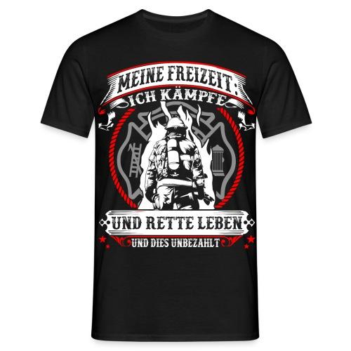 Feuerwehr - Leben retten - Männer T-Shirt