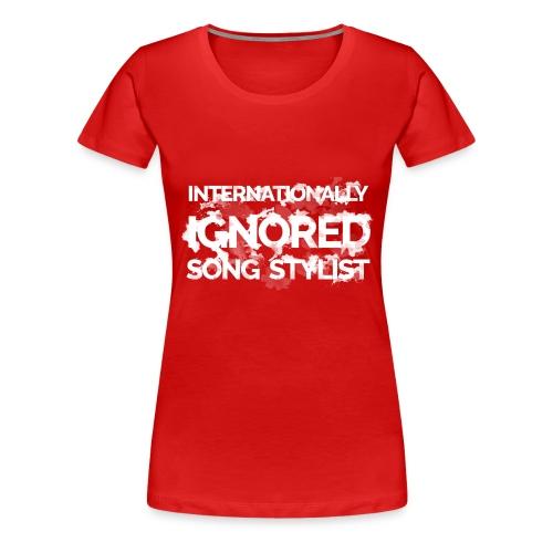 Song Stylist - Women's Premium T-Shirt