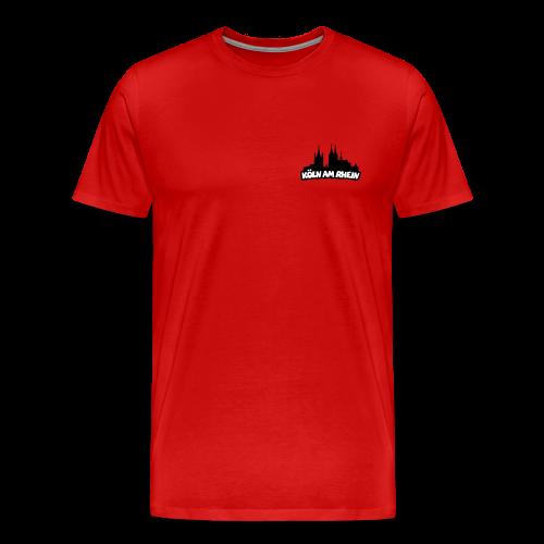 Köln am Rhein Dom St.Martin S-5XL T-Shirt - Männer Premium T-Shirt