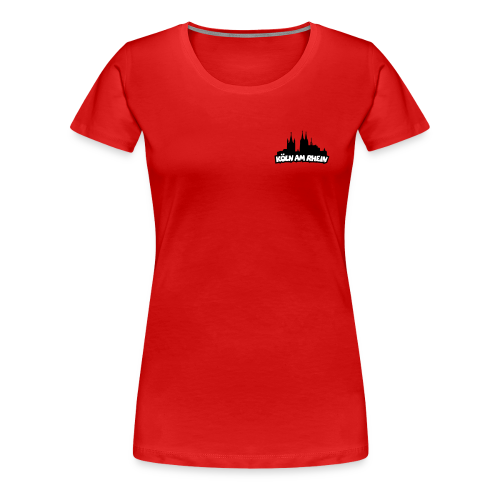 Köln am Rhein Dom St.Martin S-3XL T-Shirt - Frauen Premium T-Shirt