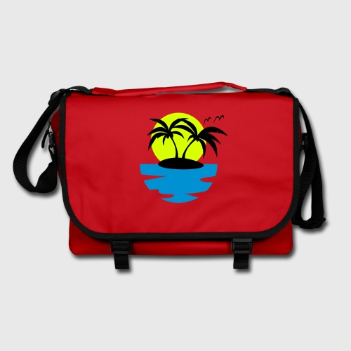 Tropical Island Shoulder Bag - Shoulder Bag
