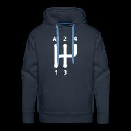 Sweat-shirts ~ Sweat-shirt à capuche Premium pour hommes ~ Grille 4