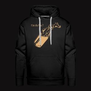 T'as du feu ? Hoodie - Sweat-shirt à capuche Premium pour hommes