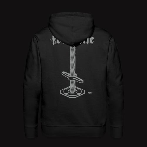 Ferraille / Hoodie  TECHNICIENS DU SPECTACLE scaff - Sweat-shirt à capuche Premium pour hommes