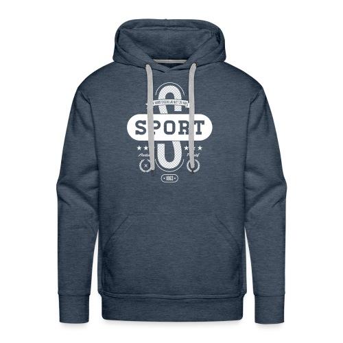 Sport mannen premium hoodie - Mannen Premium hoodie