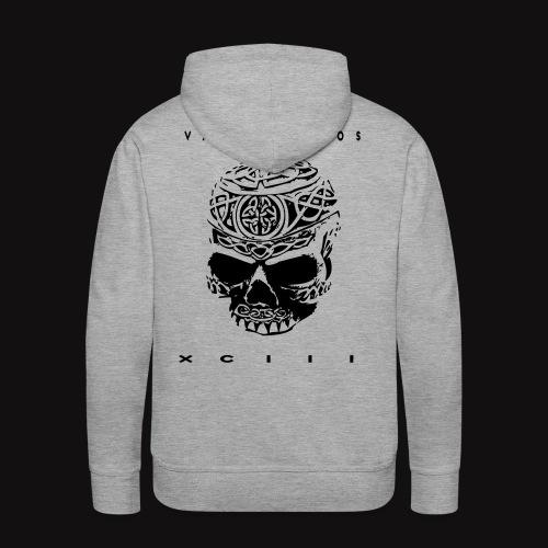 VL Flocage - Sweat-shirt à capuche Premium pour hommes
