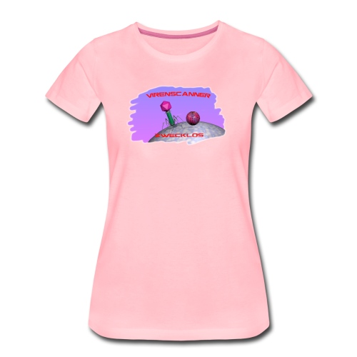 T-Shirt Virenscanner zwecklos für Frauen - Frauen Premium T-Shirt