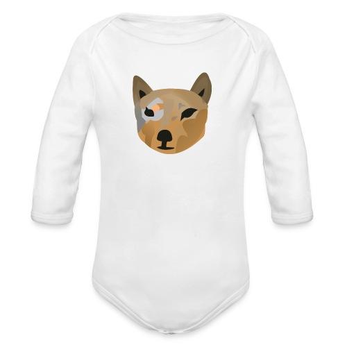 Beutelwolf Baby - Body - Baby Bio-Langarm-Body
