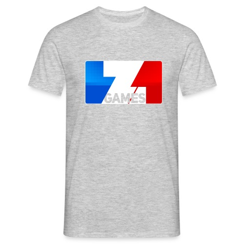 25% OFF ZoominGames So MLG : heather grey - Men's T-Shirt