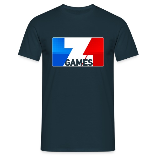 25% OFF ZoominGames So MLG : navy - Men's T-Shirt