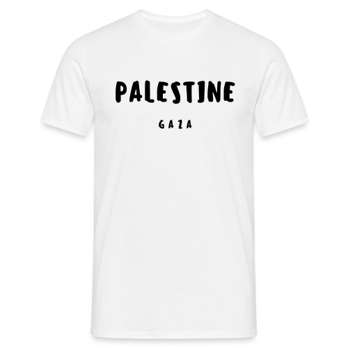 GAZA MEN SHIRT #2 - T-shirt Homme
