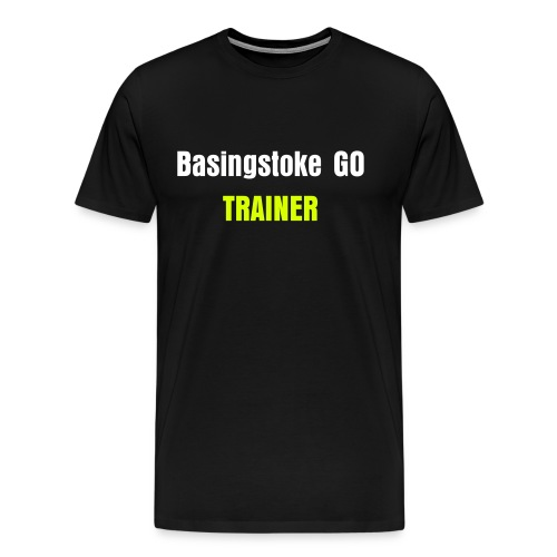Team Yellow TRAINER Adult T-Shirt - Men's Premium T-Shirt
