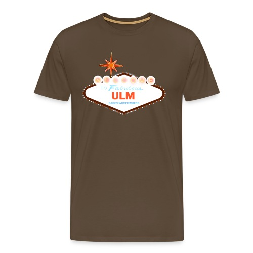 Welcome to fabulous Ulm - Männer Premium T-Shirt