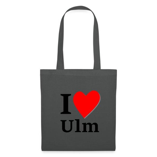 I Love Ulm - Tragetasche